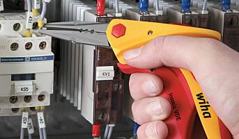 Ergonomisk verktøy for elektrikere