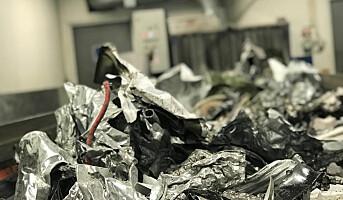 EE-avfall blir til ny elektronikk
