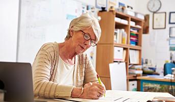 Færre tar ut alderspensjonen tidlig