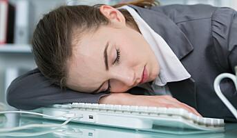 Du blir trøtt på jobben klokka 14