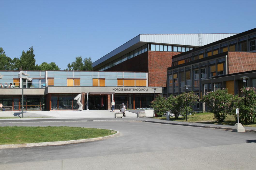Norges idrettshøyskole fikk besøk av tilsynsmyndighetene under fellesaksjonen. Den hadde alt på stell. (Foto: Jan Tveita)
