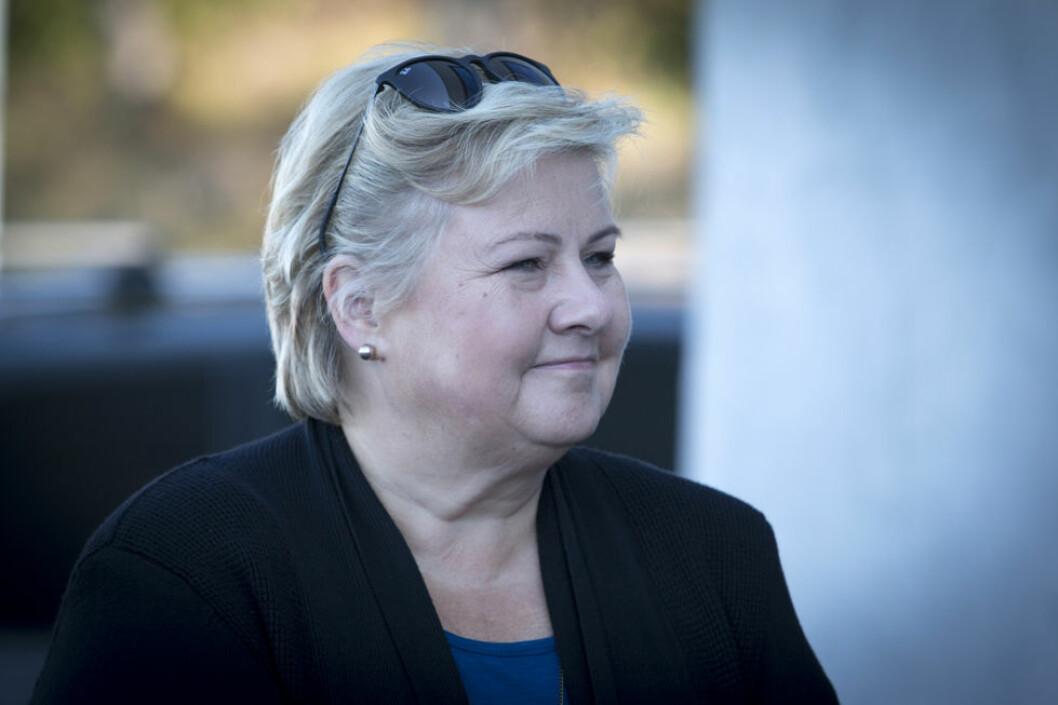 Statsminister Erna Solberg. (Foto: Colourbox.com)