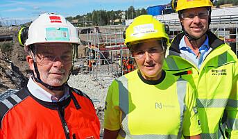 Deler erfaringer om sikkerhet i anleggsbransjen