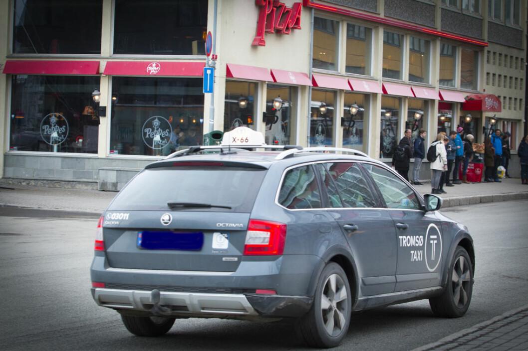 Annenhver drosjesjåfør hr vært utsatt for vold eller trusler. (Illustrasjonsfoto: Colourbox.com)