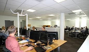 Åpent kontorlandskap gir mindre stress