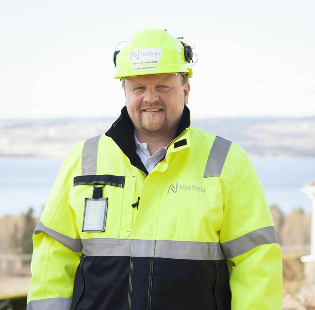 Øyvind Moshagen (Foto:Nye Veier)