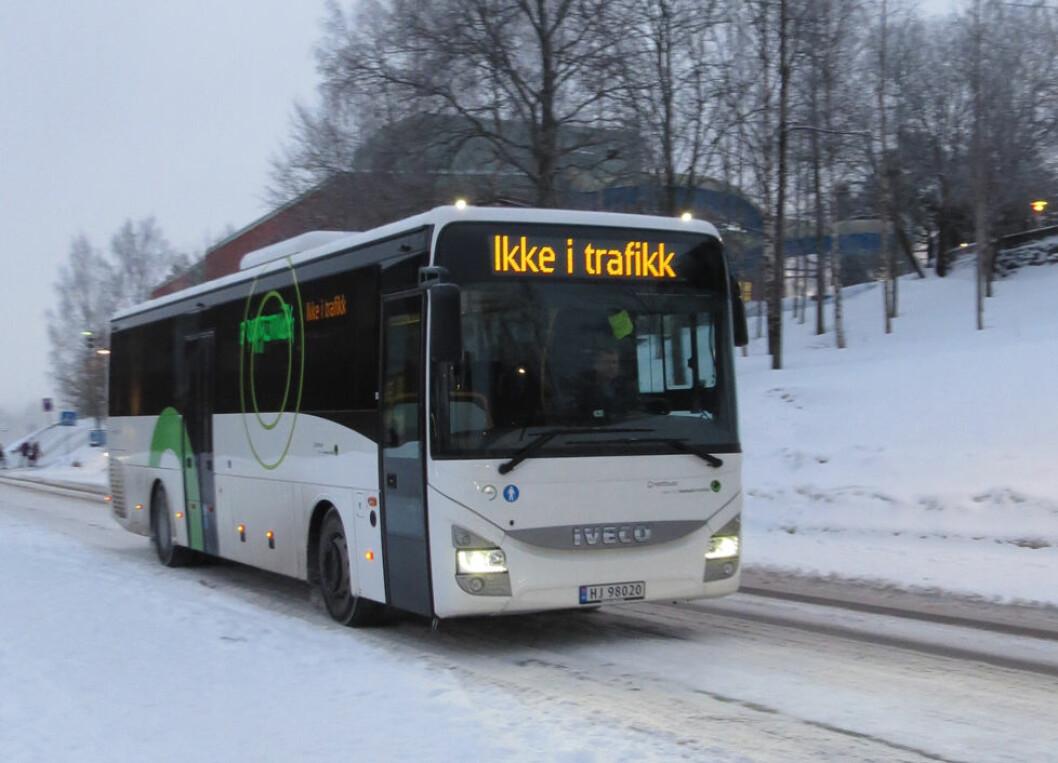 Alkolås blir påbudt i norske busser og minibusser fra 1. januar 2019. (Foto: Jan Tveita)
