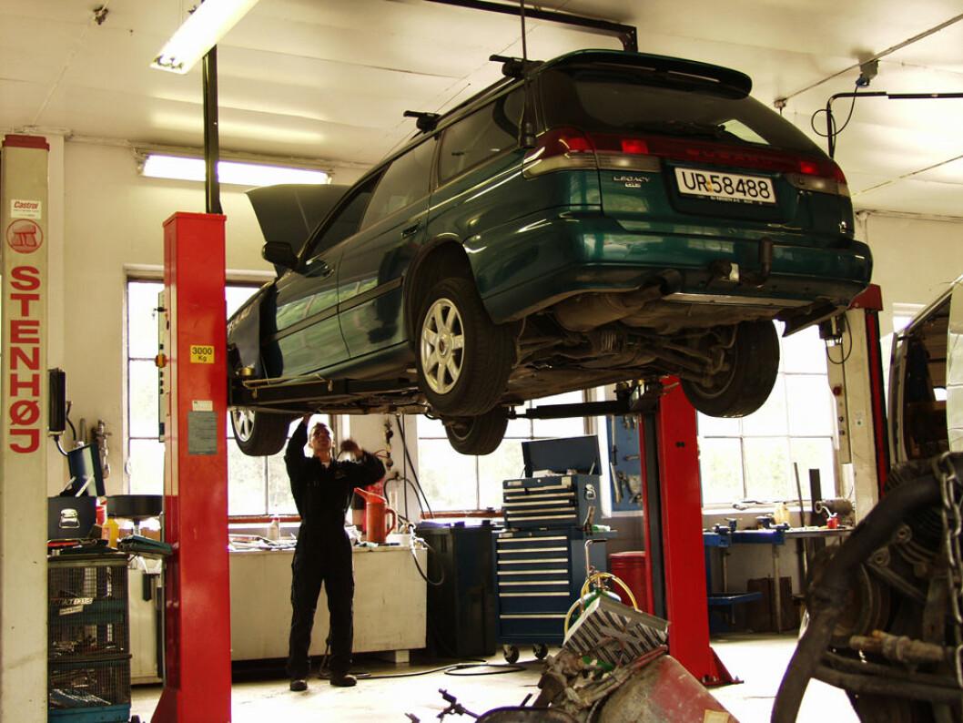 Orden på arbeidsplassen kan forebygge ulykker. Er det ryddig på din arbeidsplass? (Foto: PangPang)