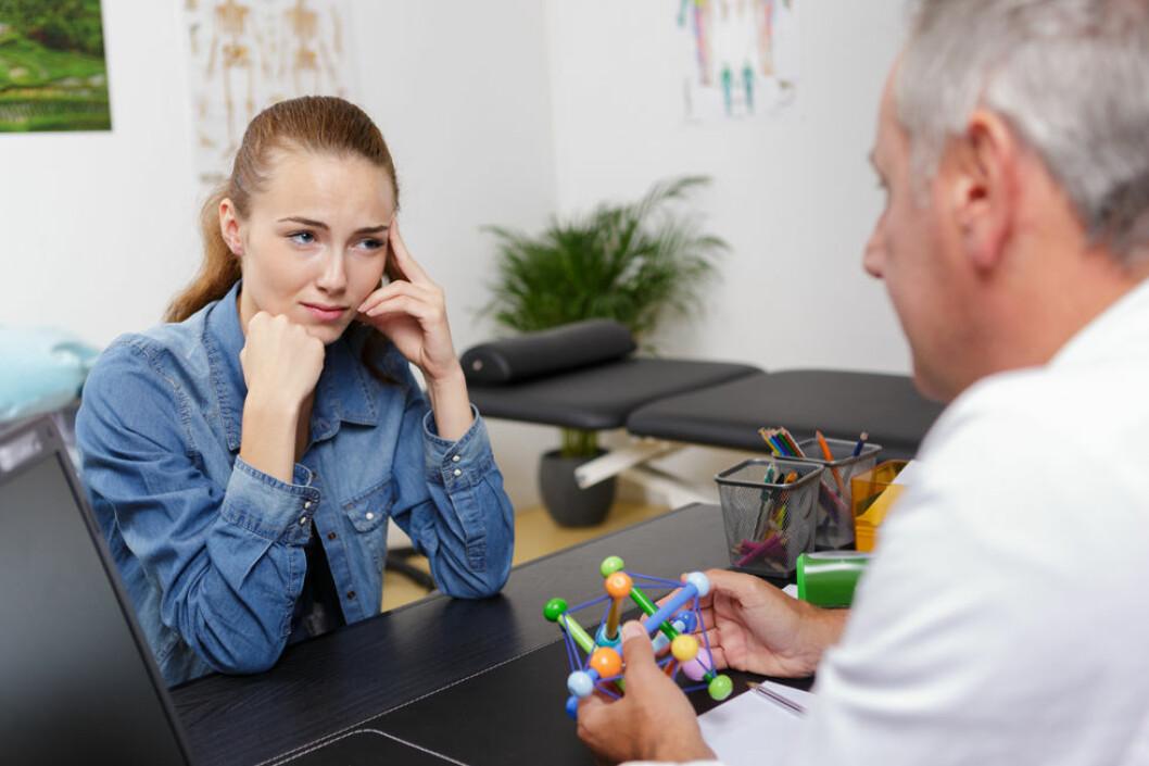 Sosial støtte og handlingsrom oppveier ikke høye jobbkrav. (Illustrasjonsfoto: Colourbox.com)