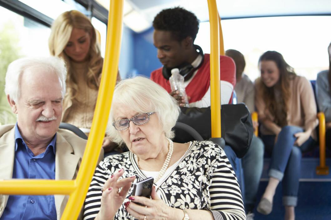 Er digital diskriminering årsaken til at seniorene utstøtes av arbeidslivet? (Illustrasjonsfoto: Colourbox.com)