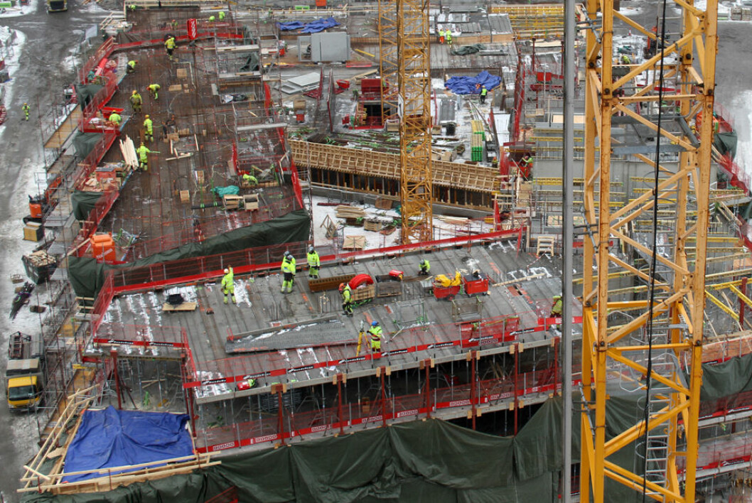 Innvandrere i håndverksyrker blir oftere skadd på jobb enn nordmenn. (Foto: Jan Tveita)