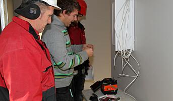 Praktiske eksempler skal redde liv i el-sikkerhetsopplæringen