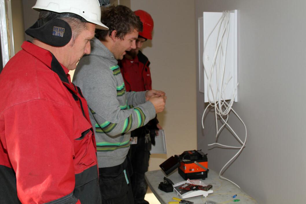 Det er ikke bare elektrikere som rammes av strømulykker. (Illustrasjonsfoto: Jan Tveita)