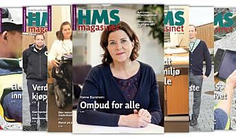 Årets siste HMS-magasinet ute nå