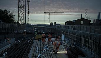 Sørg for godt arbeidslys på byggeplassen