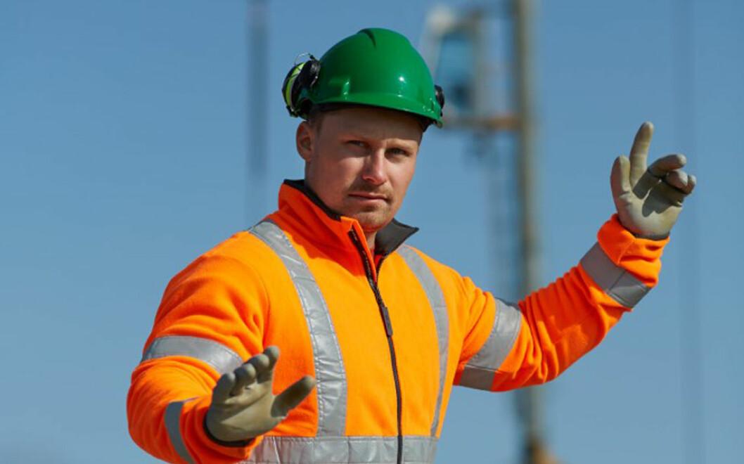 Livreddende regler i bygg og anlegg skal forebygge ulykker og redde liv. (Foto: Fundament Foto, Stian Foss)