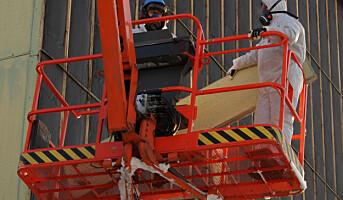 Støv på byggeplassen er et oversett problem