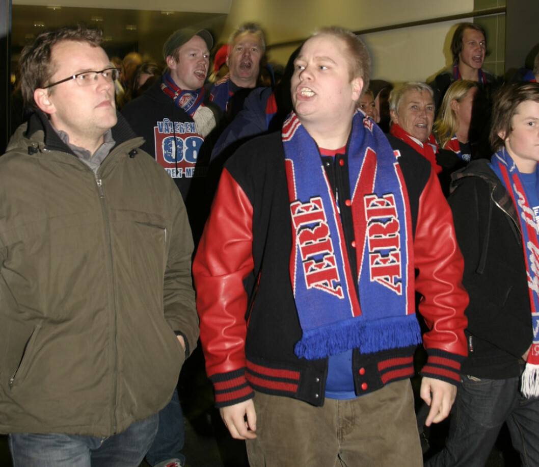 Vålerenga er en av klubbene som har fått fart i overvektige fotballfans. (Illustrasjonsfoto: Jan Tveita)