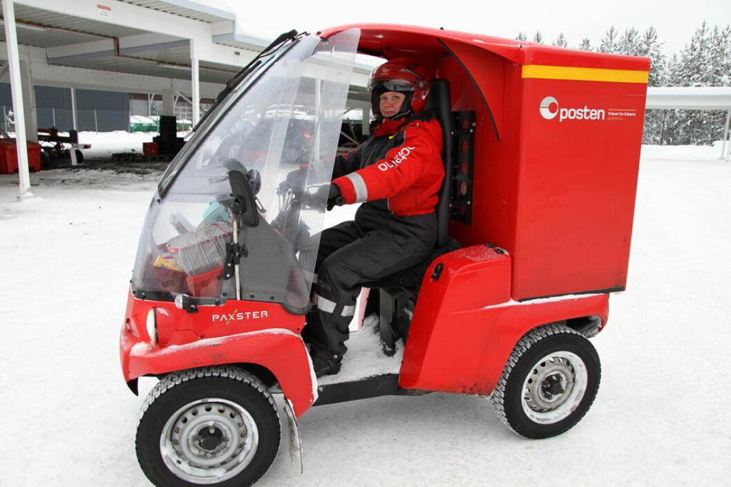 Gunn-Elin Nikolaisen er verneombud for 20 ansatte ved Posten i Elverum. (Illustrasjonsfoto: Jan Tveita)