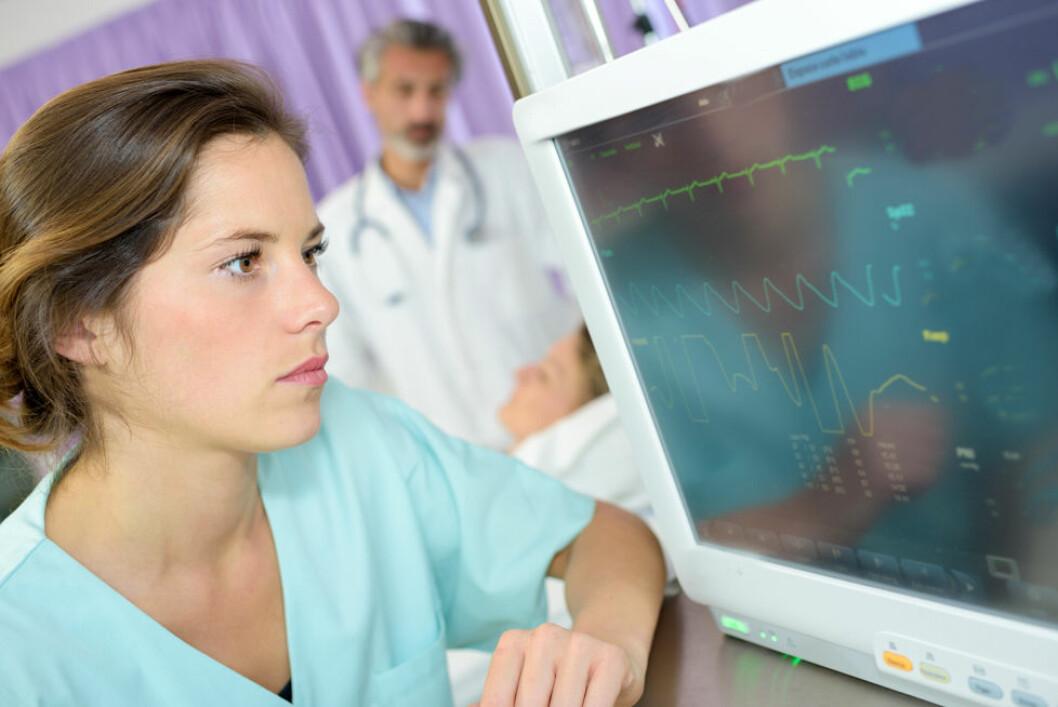 Gravide sykehusansatte med to eller flere nattevakter har økt risiko for spontanabort. (Illustrasjonsfoto: Colourbox.com)