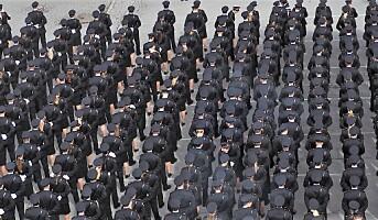 Stadig flere får jobb i politiet