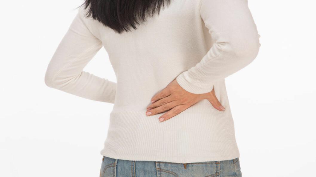 WHO vil godkjenne kroniske smerter som sykdom, ikke bare som et symptom på sykdom. (Illustrasjonsfoto: Colourbox.com)