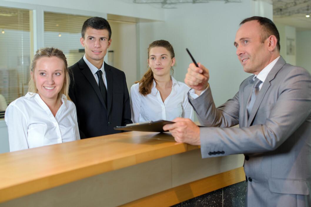 Ansatte som drømmer om å bli ledere, sier ikke fra om problemer på arbeidsplassen. (Illustrasjonsfoto: Colourbox.com)