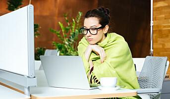 Kvinner jobber bedre på varme kontor