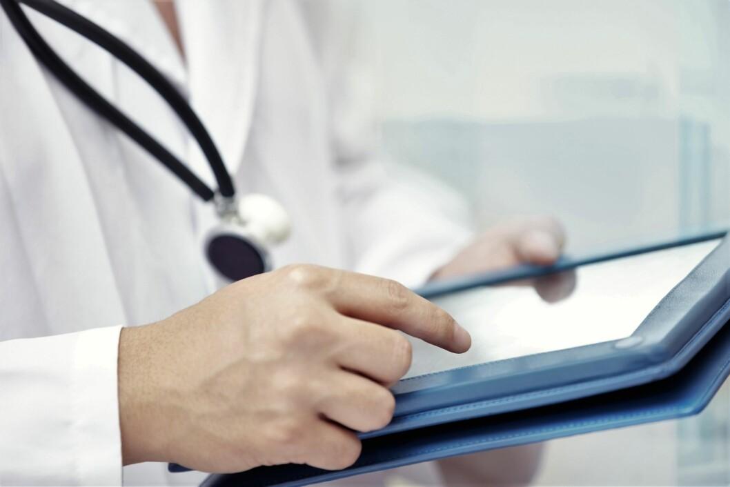 – Ny teknologien må være enkel å bruke, og gevinstene lette å se, sier forbundsleder i Norsk Sykepleierforbund Eli Gunhild By, i en kommentar til Norsk e-helsebarometer. (Foto: Colourbox)