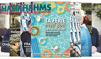 HMS-magasinet 3/2019 er ute nå