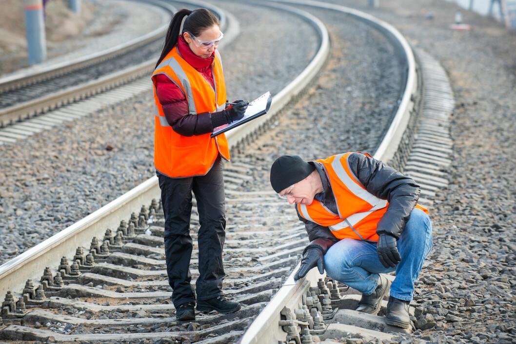 Det bygges mye ny jernbane i løpet av sommeren, opplyser Bane NOR. Spesielt foregår det omfattende arbeider på Østfoldbanen og Drammenbanen. (Foto: Colourbox)
