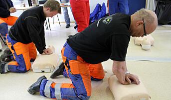 Enklere å redde liv ved hjertestans