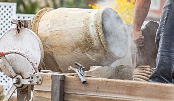 Sementstøv kan gi luftveisproblemer