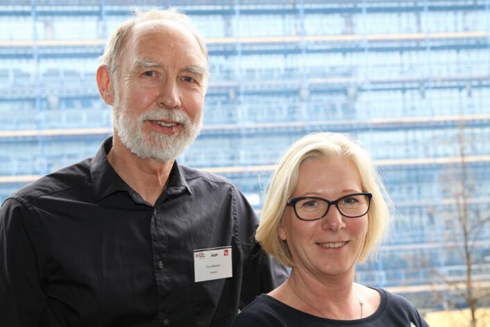 SfS er ny medarrangør til HMS-konferansen bygg og anlegg. På bildet styreleder Trond Bølviken og daglig leder Lene Jønsson. (Foto: Jan Tveita)