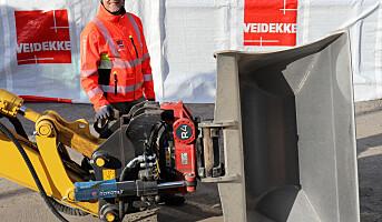 Innfører sikkerhetskrav for gravemaskiner