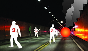 Forskere tar grep om tunnelsikkerheten
