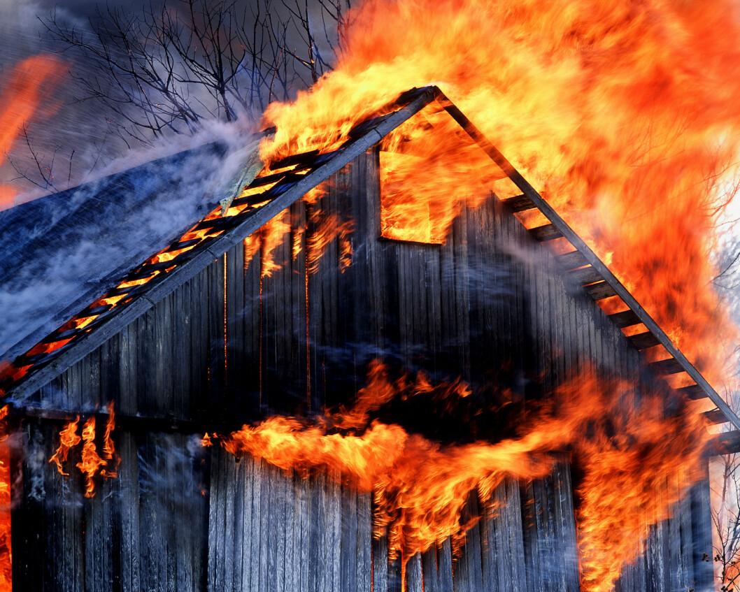 Landkreditt Forsikring arbeider nå med tiltak for å stimulere til at enda flere gjennomfører kontrollen, og at bøndene iverksetter de utbedringer som anbefales for å forebygge brann på sin egen gård. (Foto: Landkreditt Forsikring/NTB Kommunikasjon)