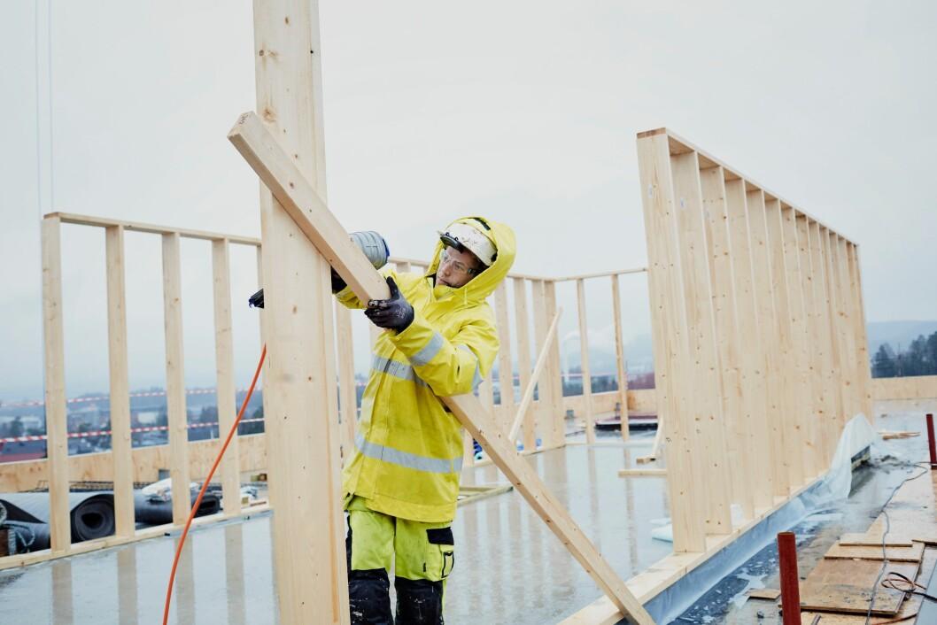 Antall arbeidsskadedødsfall i 2018 er det laveste antallet som er registrert i næringen bygge- og anleggsvirksomhet. (Foto: Arbeidstilsynet/NTB Kommunikasjon)