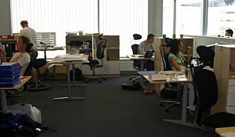 Høyere sykefravær i åpne kontorlandskap