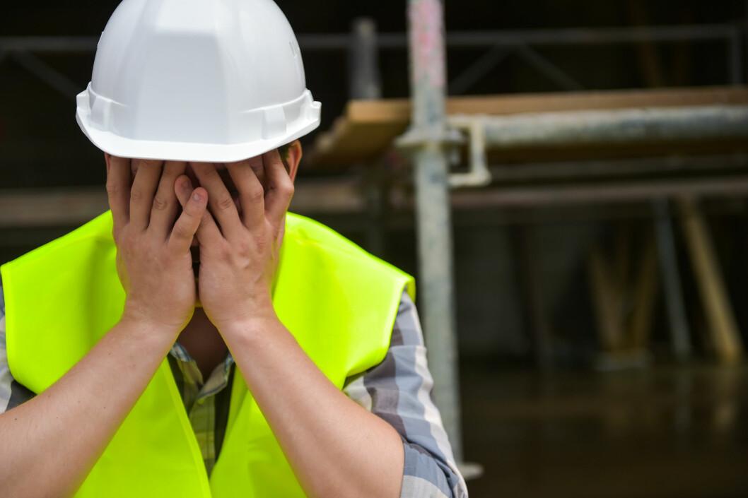 – Det skjer fortsatt for mange alvorlige ulykker i arbeidslivet, konkluderer direktør i Arbeidstilsynet, Trude Vollheim. 29 personer døde som følge av arbeidsulykker eller arbeidsskader i 2019. (Illustrasjon: Colourbox)