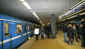 Aksjon mot vold og trusler i kollektivtrafikken