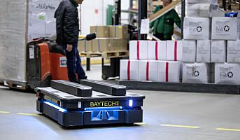 Mobile roboter gjør arbeidsplassen sikrere