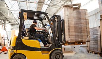 Stadig flere ulykker skjer i lagerbedrifter