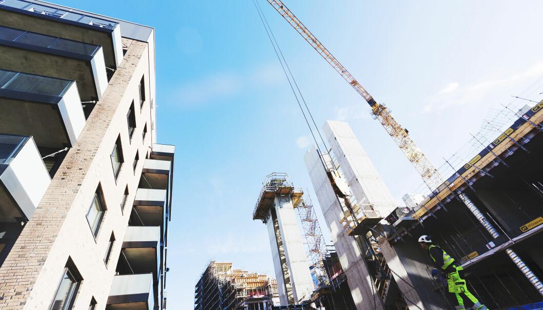 Ledigheten innen bygg og anlegg øker kraftig, og hele landet er berørt.