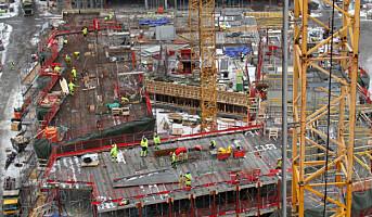 Byggeplasser skal bli avfallsfrie