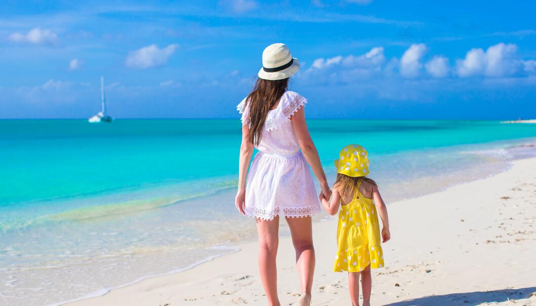 Ferie gir verdifull tid til å engasjere seg i barna.