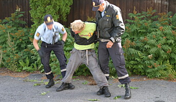 Erstatning til politifolk som skader seg under trening