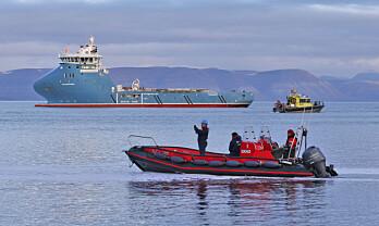 Nå blir skipstrafikken tryggere i Arktis