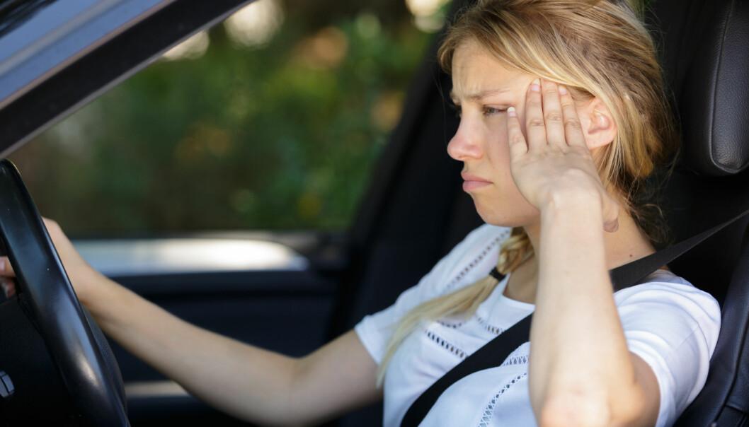 Få bilførere savner jobbreisen.