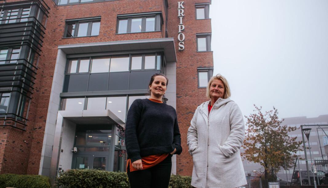Monica Varan i Norsk brannvernforening og Sølvi M. Harjo i Kripos har hatt nøkkelroller i arbeidet med den nye databasen.